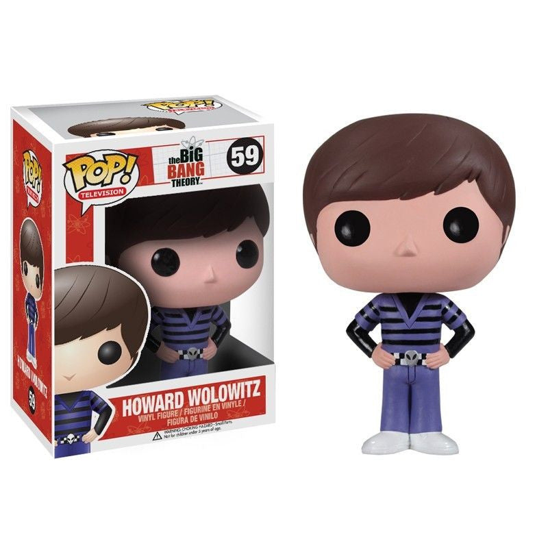 The Big Bang Theory Pop! Vinyl Figure Howard Wolowitz