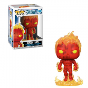 Fantastic Four Pop! Vinyl Figure Human Torch [559]
