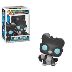 How to Train Your Dragon 3 Pop! Vinyl Figure Night Lights (Black/Blue Eyes) [728]