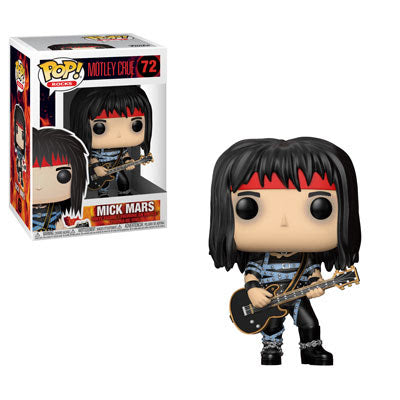 Rocks Pop! Vinyl Figure Mick Mars [Motley Crue] [72]