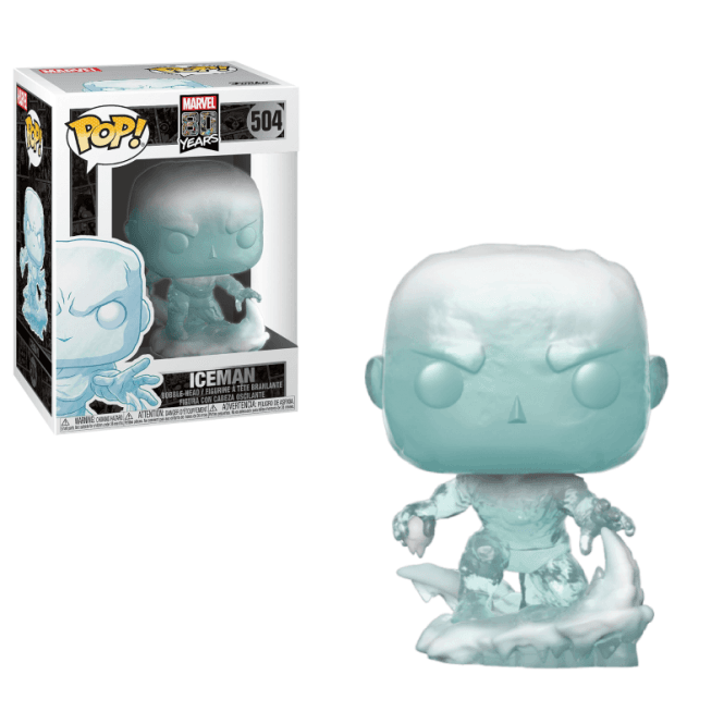 Marvel 80th Pop! Vinyl Figure First Appearance Iceman [504]