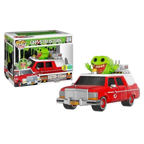 Ghostbusters Pop! Rides Figure Red ECTO-1 w/ Slimer [SDCC 2016 Exclusive]