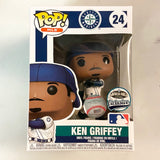 MLB Pop! Vinyl Figure Ken Griffey Jr (Error Box) [Seattle Mariners] [24] - Fugitive Toys