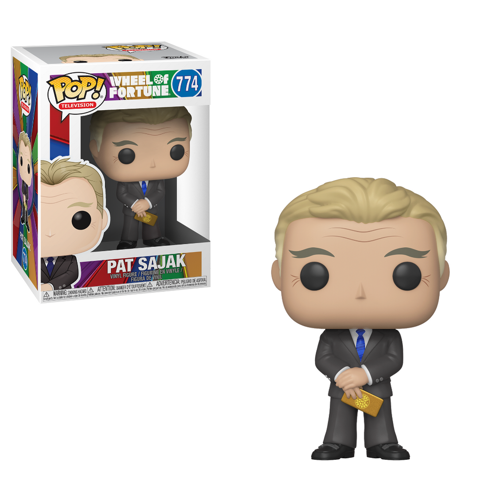 Wheel of Fortune Pop! Vinyl Figure Pat Sajak [774]