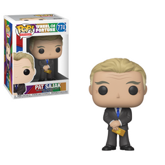 Wheel of Fortune Pop! Vinyl Figure Pat Sajak [774] - Fugitive Toys