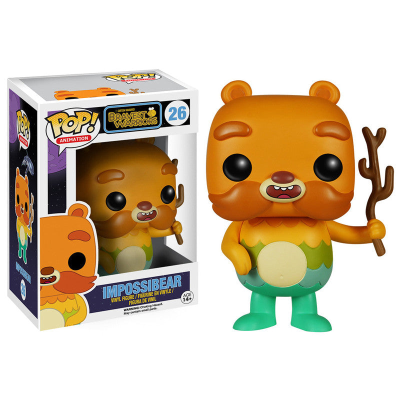Cartoon Hangover Bravest Warriors Pop! Vinyl Figure Impossibear