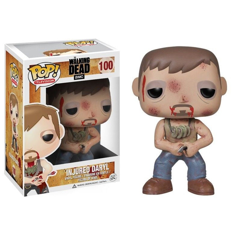 The Walking Dead Pop! Vinyl Figure Injured Daryl - Fugitive Toys