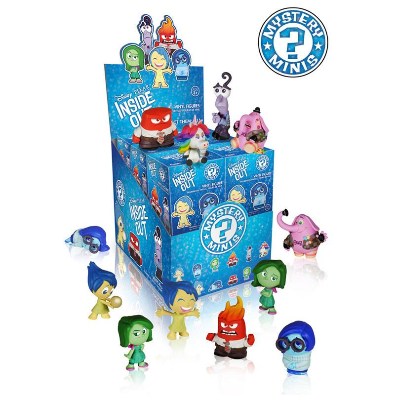 Disney Pixar Inside Out Mystery Minis: (Case of 12) - Fugitive Toys