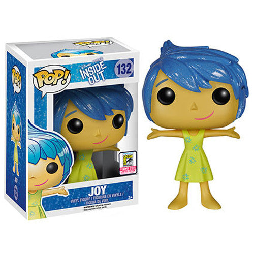 Disney Pop! Vinyl Figure Glitter Hair Joy [Inside Out] SDCC 2015 Exclusive