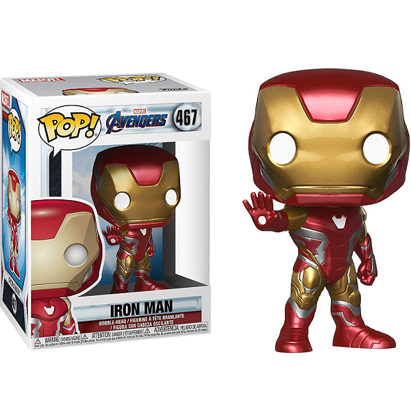 Avengers Endgame Pop! Vinyl Figure Iron Man [467] - Fugitive Toys