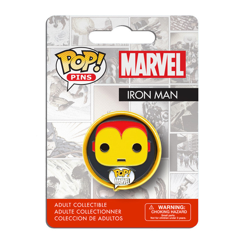 Marvel Pop! Pins Iron Man - Fugitive Toys