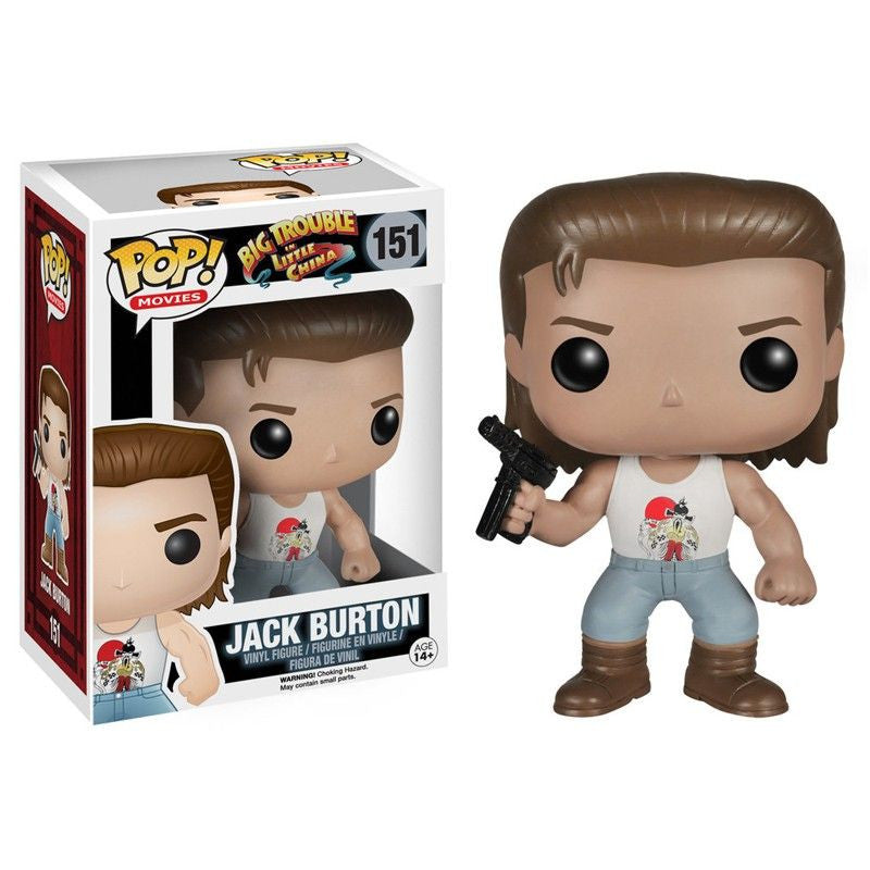 Movies Pop! Vinyl Figure Jack Burton [Big Trouble in Little China] - Fugitive Toys