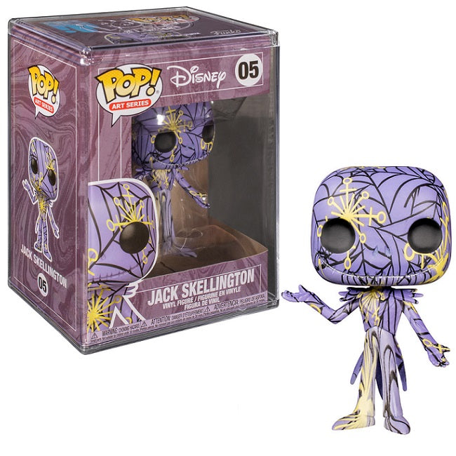 Disney NBC Pop! Vinyl Artist's Series Jack Skellington w/Case [05]