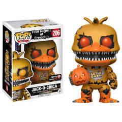 Five Nights at Freddy's Pop! Vinyl Jack-O-Chica (GameStop Exclusive) [206]