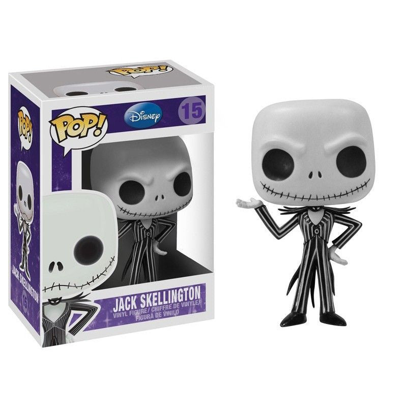 Disney Pop! Vinyl Figure Jack Skellington [Nightmare Before Christmas]