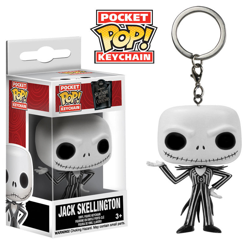 Disney Pocket Pop! Keychain Jack Skellington [The Nightmare Before Christmas]