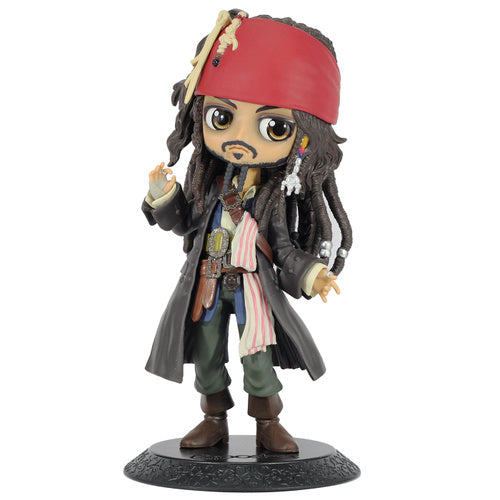 Disney Pirates of the Caribbean Q Posket Jack Sparrow (Ver. A)