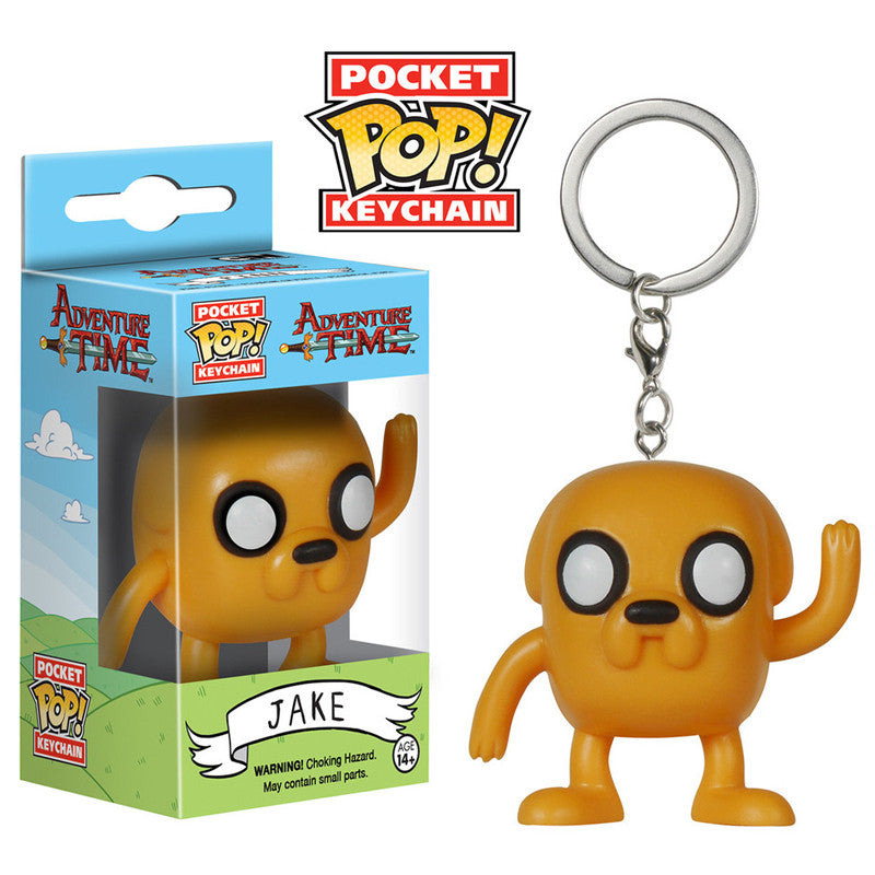 Adventure Time Pocket Pop! Keychain Jake