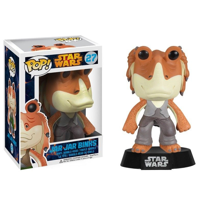Star Wars Pop! Vinyl Bobblehead Jar Jar Binks [27] - Fugitive Toys