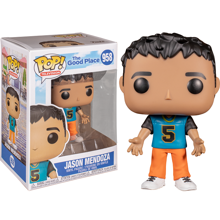 The Good Place Pop! Vinyl Figure Jason Mendoza [958]