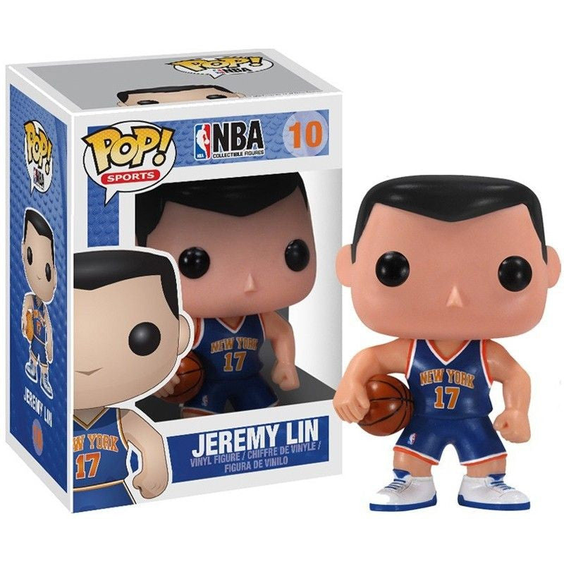 NBA Series 1 Pop! Vinyl Figure Jeremy Lin (Knicks)
