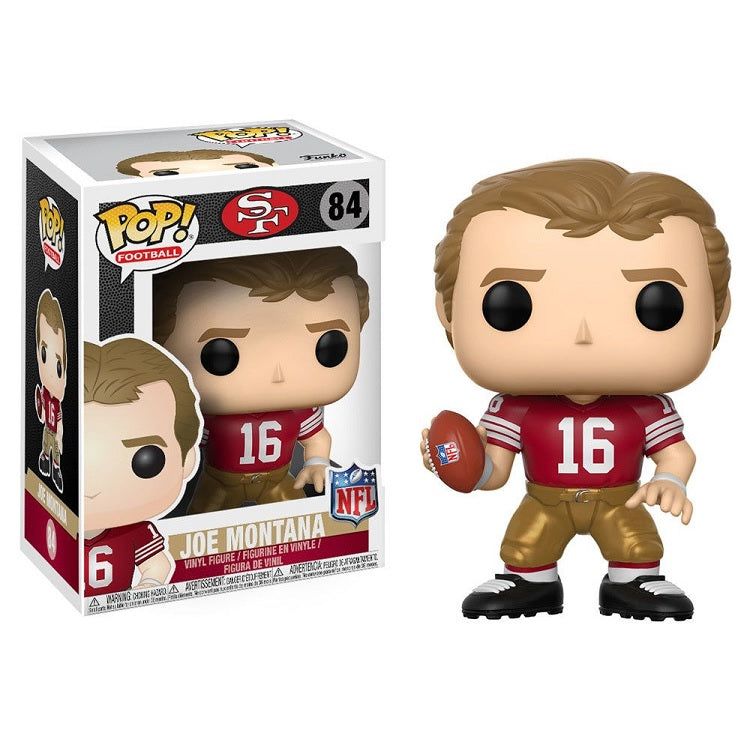 NFL Pop! Vinyl Figure Joe Montana [San Francisco 49ers] [84]