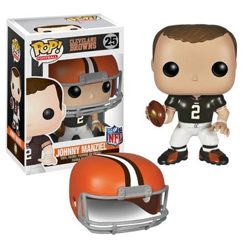 NFL Pop! Vinyl Figure Johnny Manziel [Cleveland Browns]