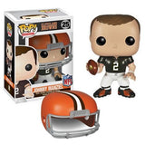 NFL Pop! Vinyl Figure Johnny Manziel [Cleveland Browns] - Fugitive Toys