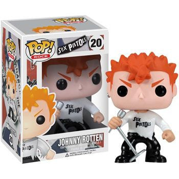Rocks Pop! Vinyl Figure Johnny Rotten [Sex Pistols]