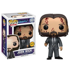 Movies Pop! Vinyl Figure John Wick [John Wick: Chapter 2] CHASE - Fugitive Toys