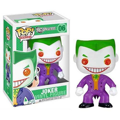 DC Universe Pop! Vinyl Figure The Joker [06]