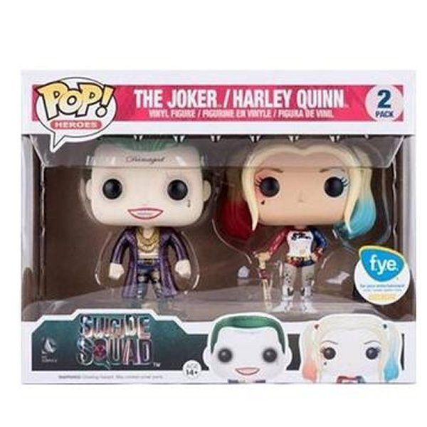 Suicide Squad Pop! Vinyl Figure The Joker and Harley Quinn [2-pack]
