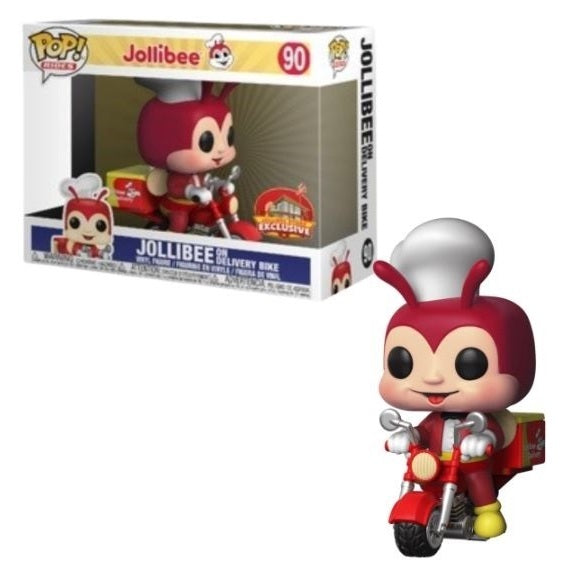 Ad Icons Pop! Rides Jollibee on Delivery Bike (Store Exclusive) [90]