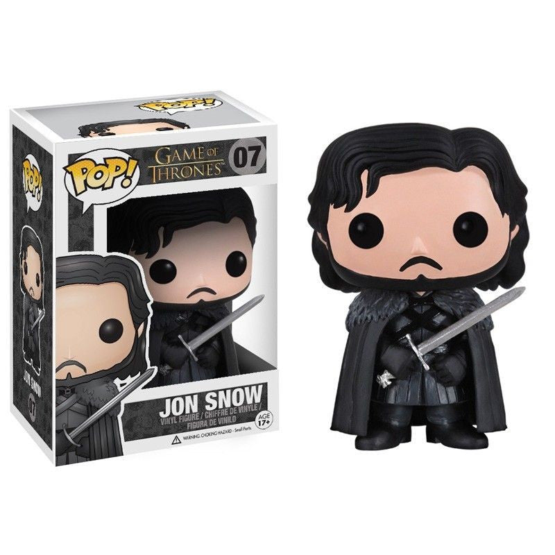 Game of Thrones Pop! Vinyl Figure Jon Snow [07] - Fugitive Toys