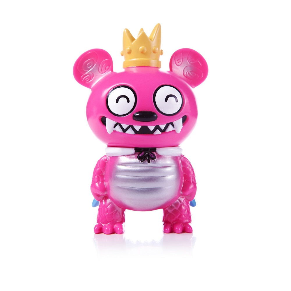 Bossy Bear Kaiju Pink (Happy Eyes) Strange Beast Collection - Fugitive Toys