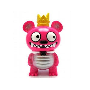 Bossy Bear Kaiju Pink (Looking Sideways) Strange Beast Collection - Fugitive Toys