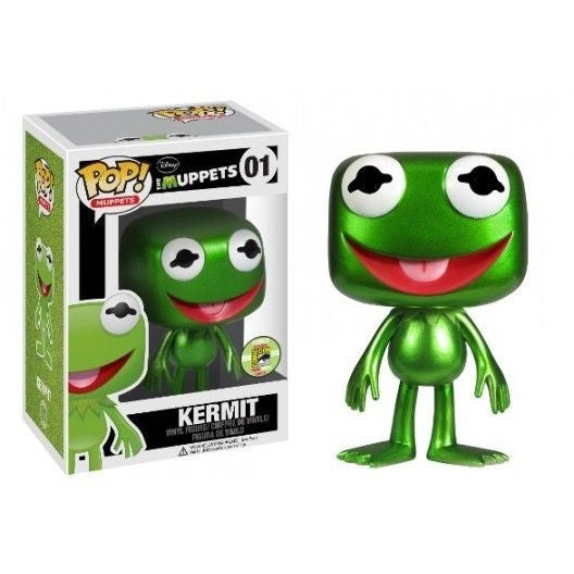 The Muppets Pop! Vinyl Figure Metallic Kermit The Frog [SDCC 2013 Exclusive]