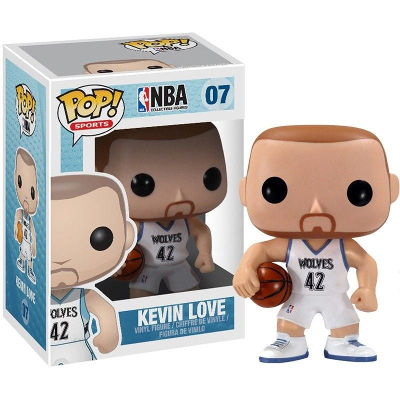 NBA Series 1 Pop! Vinyl Figure Kevin Love [07] - Fugitive Toys