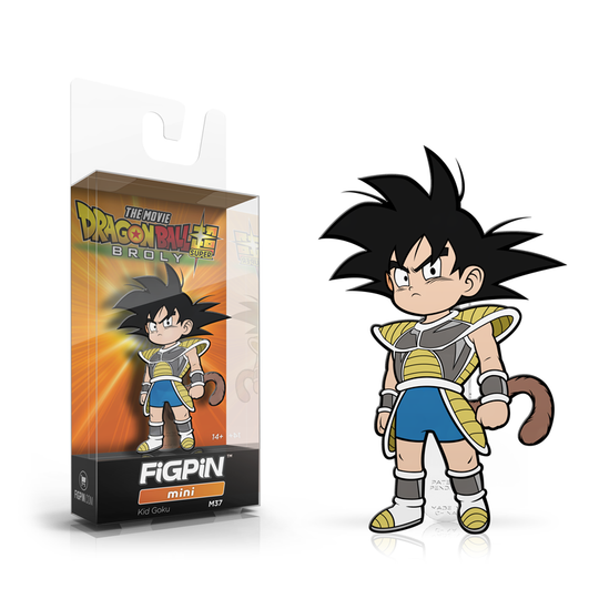 Dragon Ball Super: Broly FiGPiN Mini Enamel Pin Kid Goku [M37]