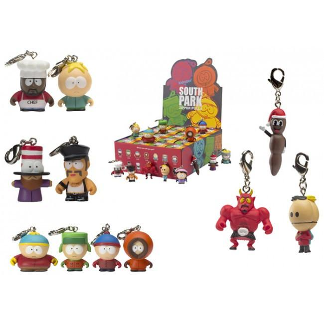 Kidrobot South Park Zipper Pulls (1 Blind Box)
