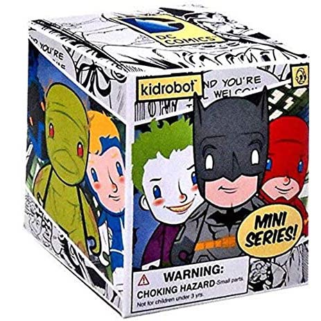 Kidrobot DC Universe Mini Series: (1 Blind Box) - Fugitive Toys