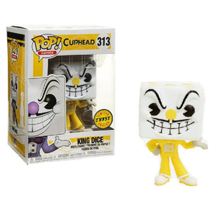 Cuphead Pop! Vinyl Figure King Dice (Chase) [313] - Fugitive Toys