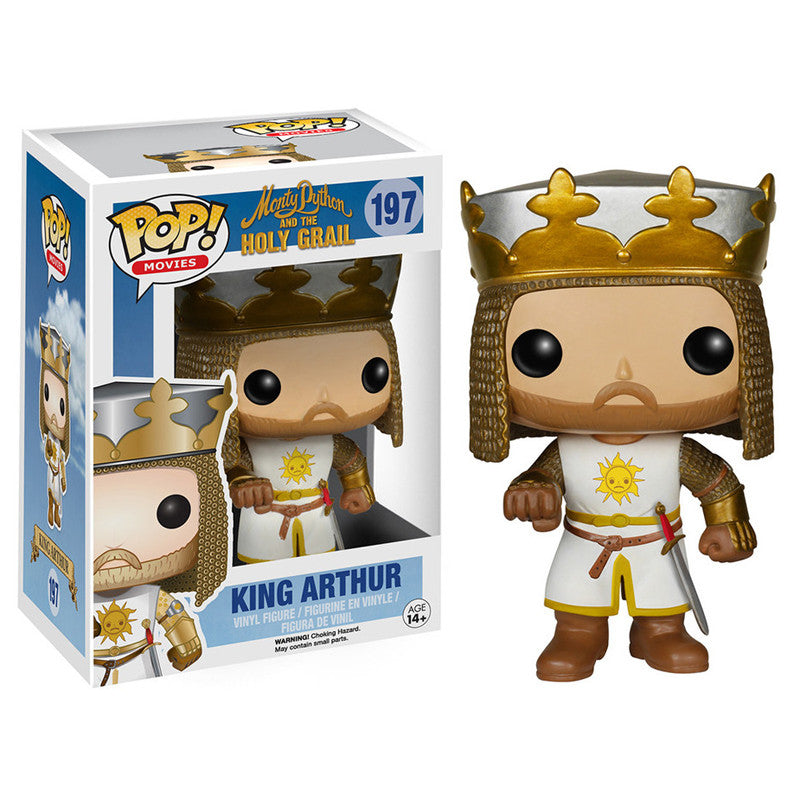 Movies Pop! Vinyl Figure King Arthur [Monty Python and the Holy Grail] - Fugitive Toys