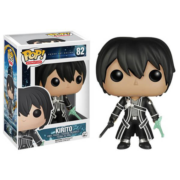 Sword Art Online Pop! Vinyl Figure Kirito (Hot Topic Exclusive) [82]
