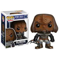 Star Trek The Next Generation Pop! Vinyl Figure Klingon - Fugitive Toys