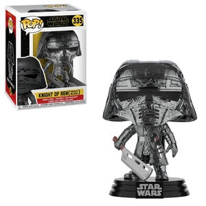 Star Wars Pop! Vinyl Figure Knight of Ren (Heavy Blade) (Hematite Chrome) [335]
