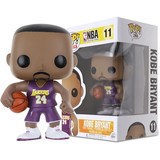 NBA Pop! Vinyl Figures Purple Jersey #24 Kobe Bryant [11] - Fugitive Toys