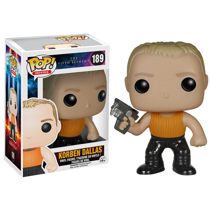 Movies Pop! Vinyl Figure Korben Dallas [The Fifth Element]