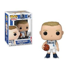 NBA Pop! Vinyl Figure Kristaps Porzingis (Dallas Mavericks) [61] - Fugitive Toys