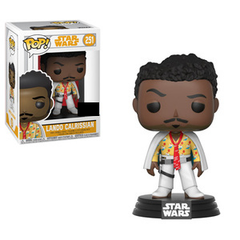 Star Wars Pop! Vinyl Figure Lando Calrissian (White) [251]